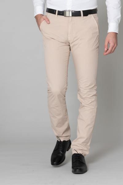 Pantalon chino écru homme              title=