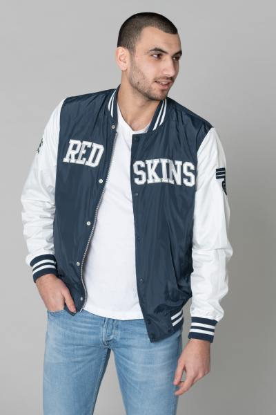 Blouson Homme Redskins PUMPER HEAT NAVY WHITE