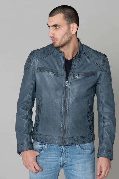 herren Jacke gipsy GB GOREY LAGAV DUSTY BLUE              title=