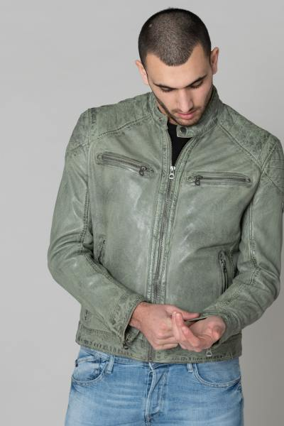 herren Jacke gipsy GB GOREY LAGAV LIGHT GREEN              title=