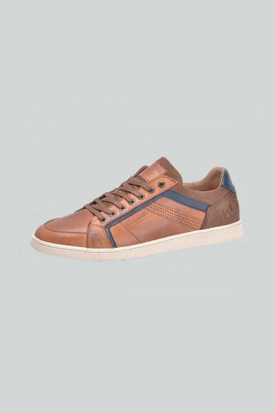 Chaussures Homme Chaussures Redskins ORMANI COGNAC MARINE