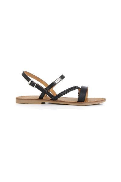 Sandales en cuir pour femme              title=