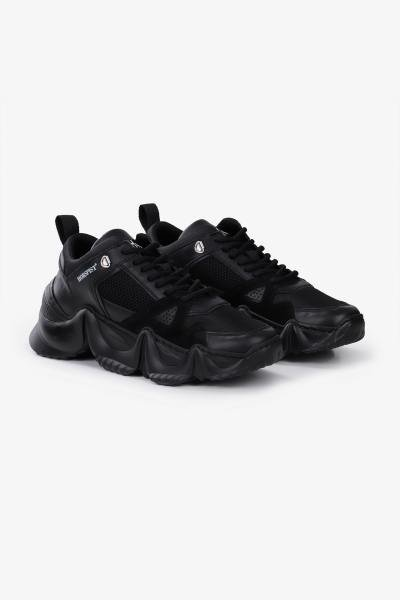 Sneakers de luxe noires              title=