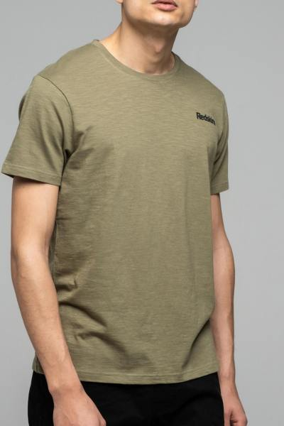 T-shirt fluide homme kaki              title=
