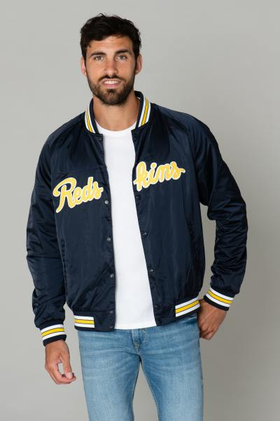 Blouson teddy football US en polyester              title=