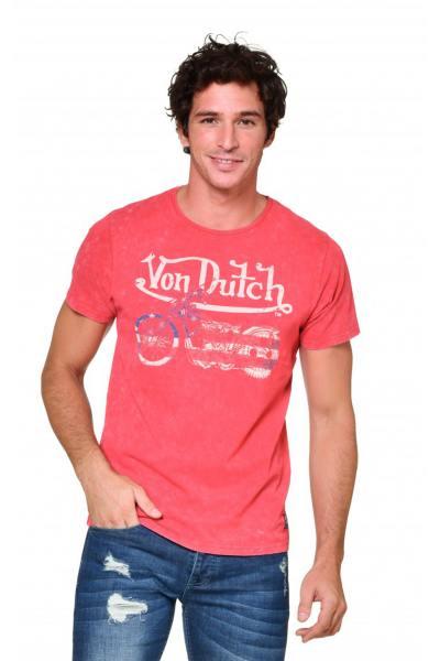 Rundhals-T-Shirt für Männer Von Dutch