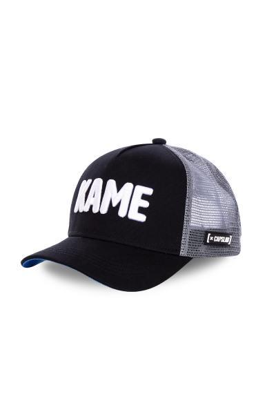 "Schwarze Dragonball-Kappe ""Kame""              title="