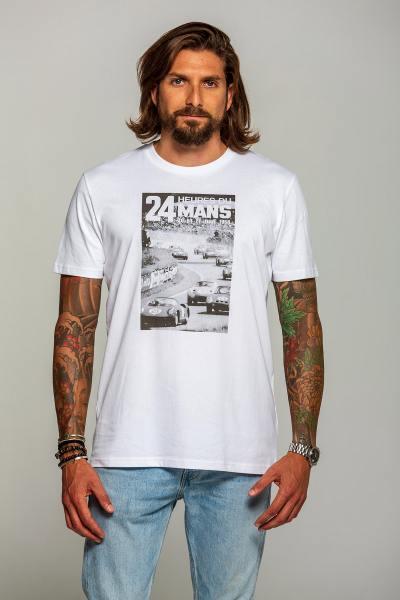 Weißes Tee-Shirt 24-Stunden-Rennen von Le Mans 1964              title=