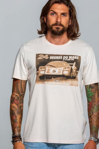 Vintage-T-Shirt 1981 24 Stunden von Le Mans               title=
