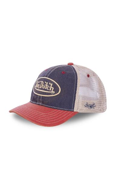 Casquette jean vintage Dutch              title=