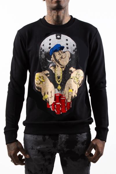 Sweatshirt Popeye & Poker