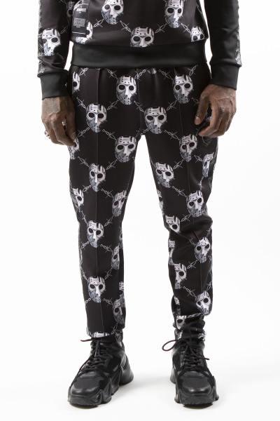Pantalon sportswear imprimé masque jason              title=