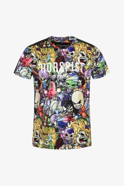 T-shirt imprimé manga