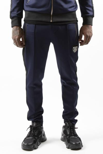 Pantalon de survêtement bleu marine              title=