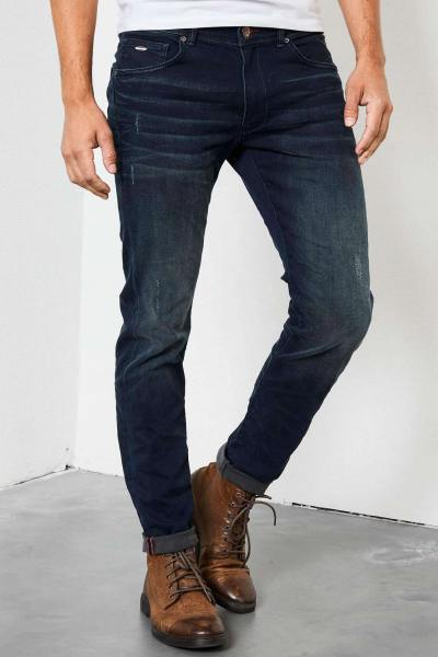 Jean bleu vintage slimfit              title=