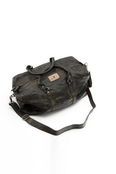 Vintage-Reisetasche aus Leder              title=