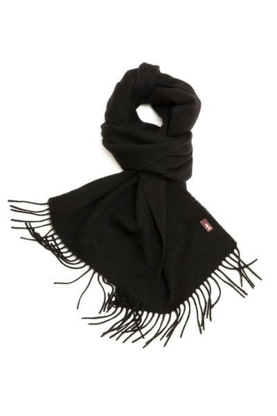 Schwarzer Textil-Schal               title=