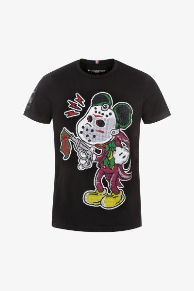 T-shirt Joker Mickey Jason              title=