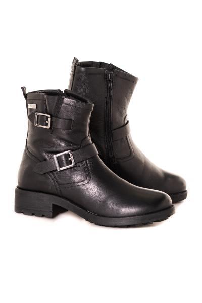 Boots noire femme              title=