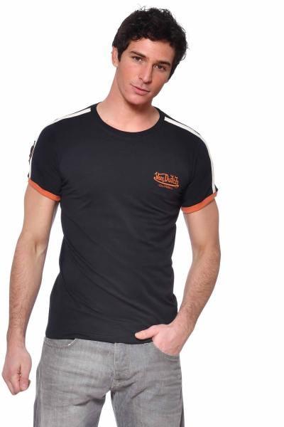 T-shirt noir près du corps              title=