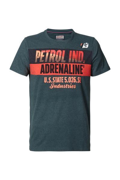 T-Shirt homme vert bouteille              title=