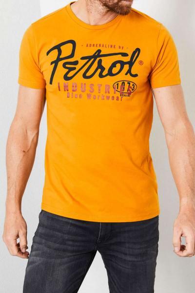 Goldgelbes Herren-T-Shirt              title=