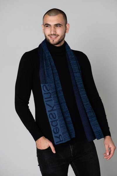 Halstuch Mann marineblau