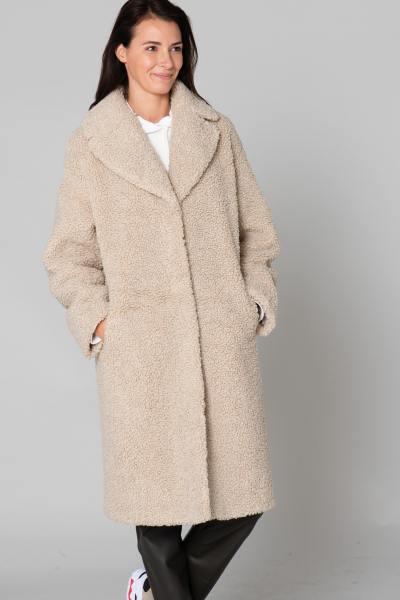 Manteau en fausse fourrure femme              title=
