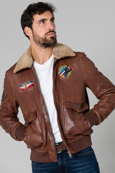 Blouson Pilote avec patchs Ranger              title=