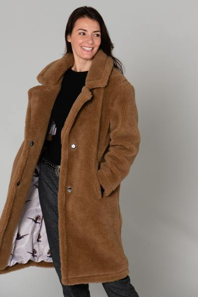 Long manteau en laine              title=