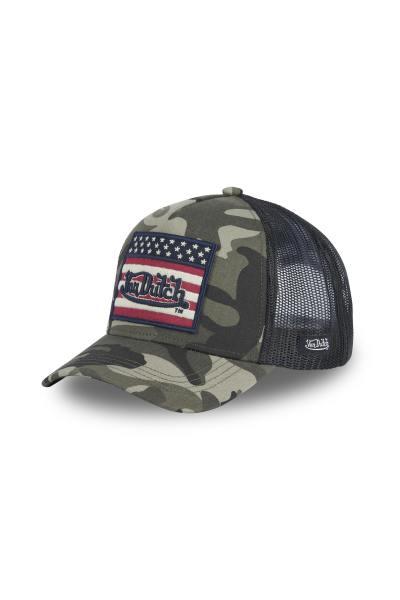 Casquette militaire drapeau américain              title=