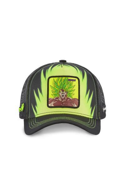 Casquette Super Broly noire et verte              title=