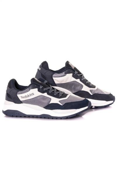 Sneakers bleu et gris