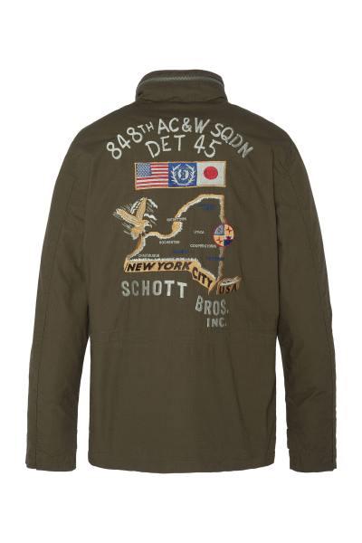 WWII khaki Militärjacke