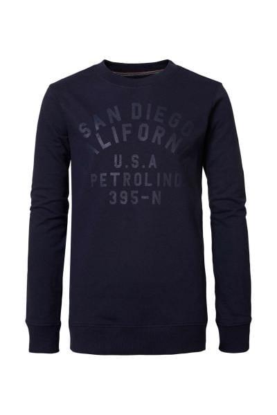 Marineblauer Pullover für Jungen