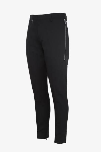 Trendige schwarze Hose