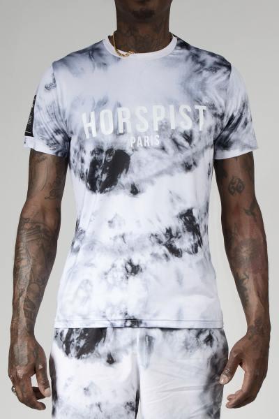 T-Shirt mit Wolkenaufdruck