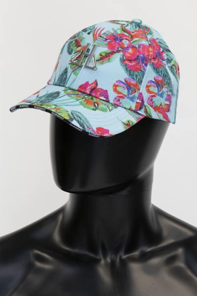 Blaue Kappe hahiti