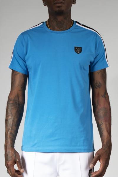 Azurblaues T-shirt