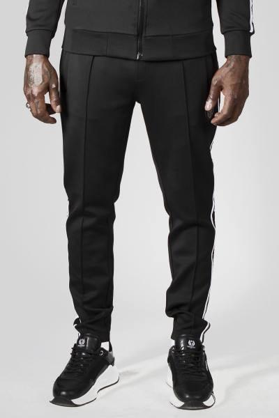 Schwarze Streetwear-Hose