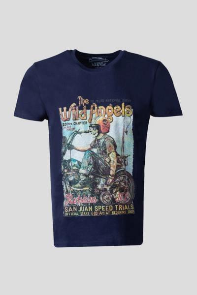 T-shirt bleu San Juan