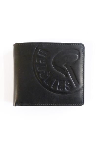 Portefeuille en cuir noir homme