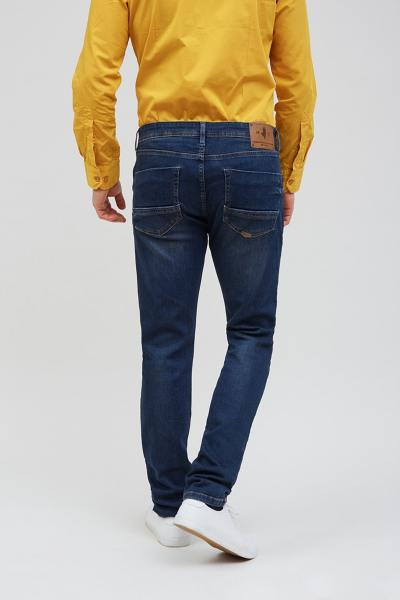 Jean slim & stretch bleu denim