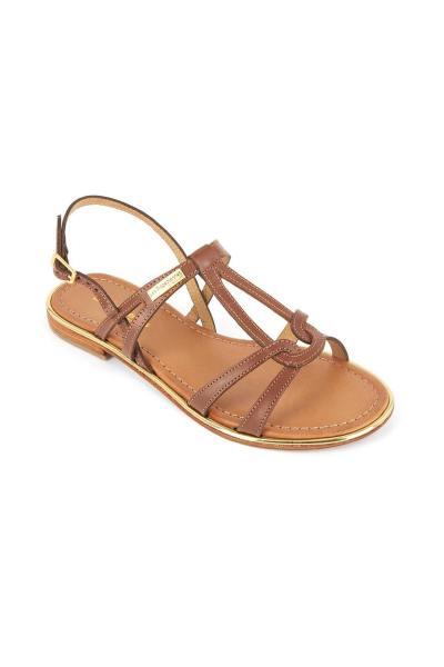 Sandales 100% cuir femme