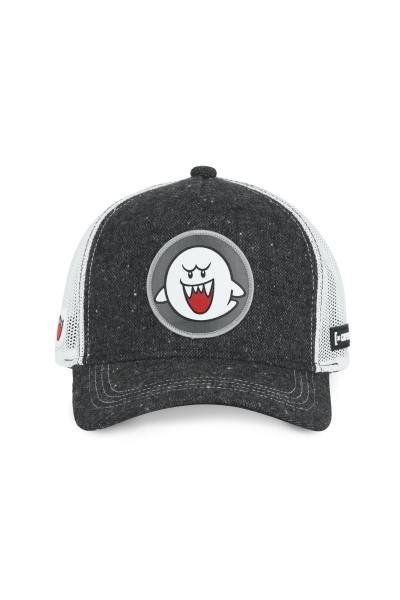 Boo dunkelgrau gesprenkelte Kappe (Mario)