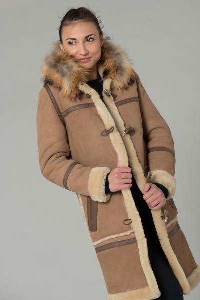 Duffle Coat Langer Mantel