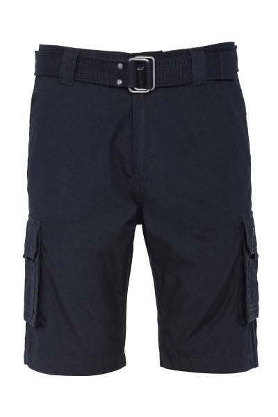 Marineblaue militärische Cargo-Shorts
