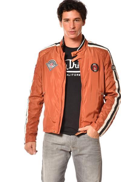 Jacke Mann orange