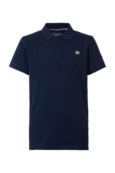 Herren-Poloshirt navy blau