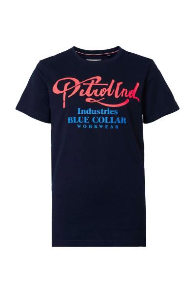 Marineblaues Herren-T-Shirt